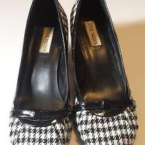 Steve Madden Houndstooth Pump Size 8.5 M Rare Unique Design  Photo
