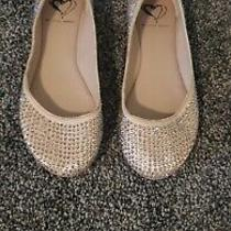 Steve Madden I-Dreemy Blush/multi Sparkly Flats Size 5.5 Photo