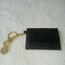 Steve Madden Id Card Case Wristlet Fob Keychain Charmblack Photo
