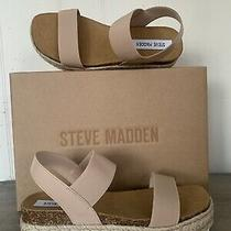 Steve Madden Jaklin Espadrille Blush Sandals Size 8 New in Box Photo