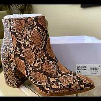Steve Madden Julianna Brown Snake Print Women Boot Sz 8 Nwt Photo