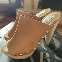 Steve Madden Leather Studded Open-Toe Heels- Sz. 8 Photo