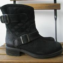 Steve Madden Leather Women's Boots Size 6.5us - 37eu Photo