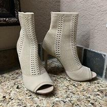Steve Madden Light Tan Booties 7.5 Photo