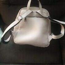Steve Madden Logo Blush Pink Leather Backpack/purse. New Without Tags Photo