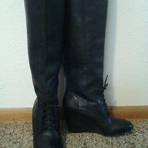 Steve Madden Luxe Black Leather 3