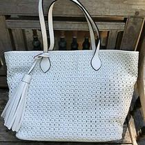 Steve Madden Lylah Woven / Tassel Tote Bag / Clearance Sale Nwt Photo
