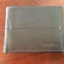 Steve Madden Men's Bi Fold Passcase Wallet Brown Photo
