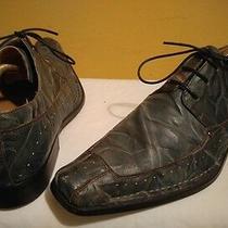 Steve Madden Men's Shoes Sz 9.5 Blue Photo