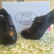 Steve Madden Menlo Booties Sz 7.5 Trendy/fashionable/sexy Photo
