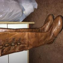 Steve Madden Miidori Cognac Riding Boots 8.5  Photo