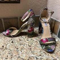 Steve Madden Multicolored Heels Us 8 Photo