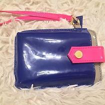 Steve Madden Navy and Pink Iphone Wristlet Photo