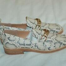 Steve Madden New Beige Snake Print Moccasins Women's Shoes Size 6 Photo