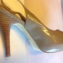 Steve Madden Peep-Toe Slingbacks Blush Neutral Dress Sandal Size 8 Photo