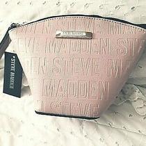 Steve Madden Pink Blush Bucket Wristlet Retail 42 Nwt  Photo