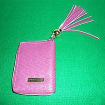 Steve Madden Pink Zip Wallet & Cell Phone Carrier    Photo