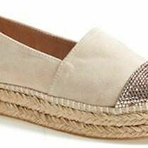 Steve Madden Pulsse Flat Blush Espadrille Wedge Sneaker Pulse New Sz 7 Sparkle  Photo