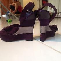 Steve Madden Purple Heels Photo