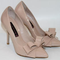 Steve Madden Ravesh Blush (Nude) Patent Leather Pump    Sz 5.5     msrp148.95 Photo