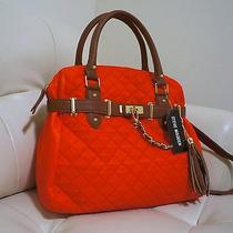 Steve Madden Red/cognac Satchel Bag Photo