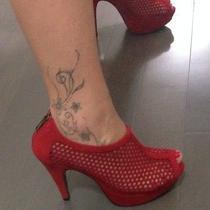 Steve Madden Red Heels Photo