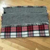 Steve Madden Reversible Plaid Blanket Wrap Scarf One Size Photo