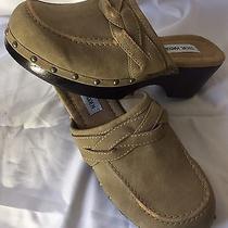 Steve Madden Shoes Clogs Mules Sz 7 Vtg Boho Chic Vintage Photo