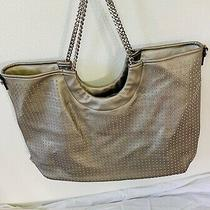 Steve Madden Silver Bag - Small Silver Studs Chain Straps Super Cute Photo