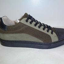 Steve Madden Size 7 Elliot Olive Leather Fashion Sneakers New Mens Shoes Photo
