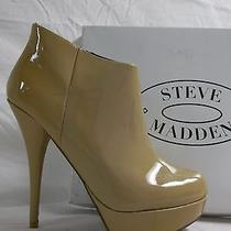 Steve Madden Size 9.5 M Chelseey Blush Patent Leather Booties Shoes New Womens Photo