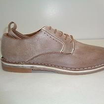 Steve Madden Size 9 M Stannis Tan Distressed Leather Lace Oxfords New Mens Shoes Photo