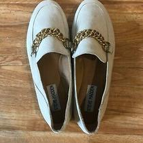 Steve Madden Soprano Blush Suede Loafers Size 6 34 New Photo