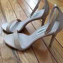 Steve Madden Steve Blush Patent Ankle Strap Heel 6 1/2 Photo