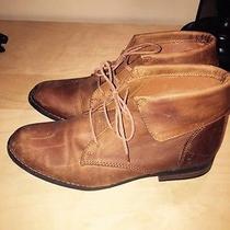 Steve Madden Stingrei Cognac Leather Boots Photo