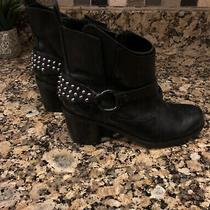 Steve Madden Studded Leather Womens Boots Size 6.5 Photo