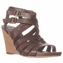 Steve Madden Venis Wedge Sandal - Chocolate 7.5 M Photo