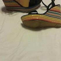 Steve Madden Wedge Sandal Size 8 Photo