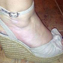 Steve Madden Wedges Women's Shoes    Lt. Blush/tan Color    Size 9  Pre-Owned Photo