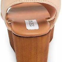 Steve Madden Women's Barbara Wedge Sandal Blush Size 8.0 Osqo Photo