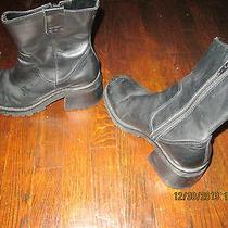 Steve Madden Women's Black Fender 7 1/2 Boots Photo