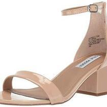 Steve Madden Women's Ireneew Wide Width Dress Sandal Blush Patent Size 6.0 R4l Photo