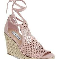 Steve Madden Womens Bambino Fabric Open Toe Special Occasion Blush Size 7.5 Te Photo