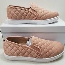 Steve Madden Womens Blush Pink Ecentcqw Fabric Slip-on Loafers Size 8 Photo