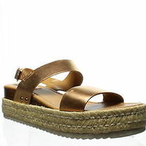 Steve Madden Womens Catia Rose Gold Espadrilles Size 8.5 (1318003) Photo