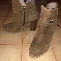 Steve Madden Womens Chestnut Suede Fashion Booties Size 7.5 Photo