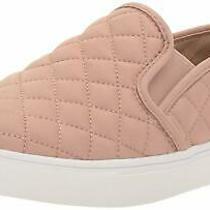 Steve Madden Womens Ecentrcq Low Top Slip on Fashion Sneakers Blush Size 9.5 Q Photo