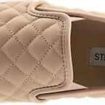 Steve Madden Womens Ecentrcq Low Top Slip on Fashion Sneakers Blush Size 7.5 8 Photo
