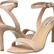 Steve Madden Womens Faith Blush Suede Size 6.5 Ptvw Photo