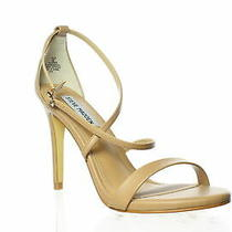 Steve Madden Womens Feliz Natural Sandals Size 8 (1405627) Photo